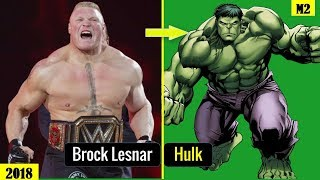 Top 20 WWE SUPERSTAR Who Look alike CELEBRITY 2018 [HD]