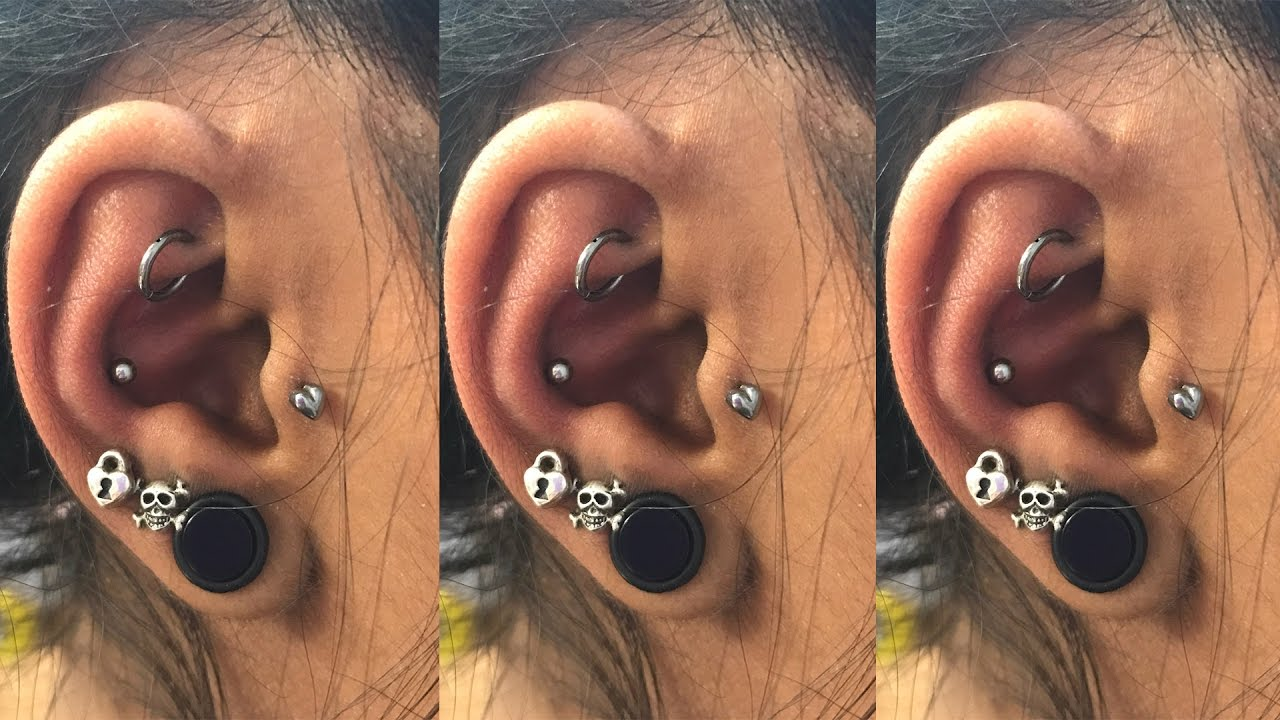 My New Conch Piercing Conch Piercing Experience Does A Conch
