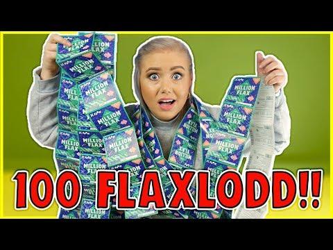 Skraper 100 Flaxlodd - og Vinner!!