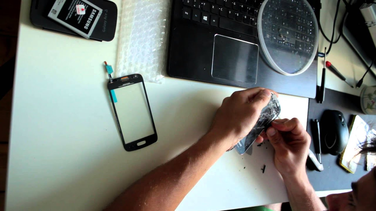Samsung Galaxy Ace 3 Touchscreen Tausch Replacement Youtube Kesing