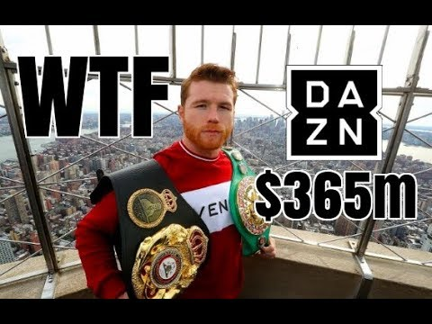 **WTF** CANELO SIGNS $365M MULTIFIGHT DEAL WITH DAZN   THE TAKEOVER IS REAL