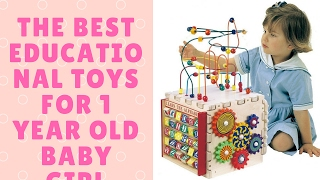 THE BEST EDUCATIONAL TOYS for 1 year old BABY GIRL