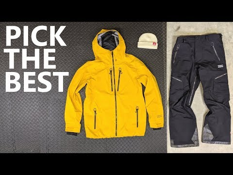 How To Pick The Best Snowboard Jacket