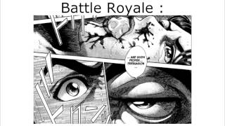 Manga-Art - Critique n°4 [Durarara !!/Otomen/Battle Royale/Nodame Cantabile]