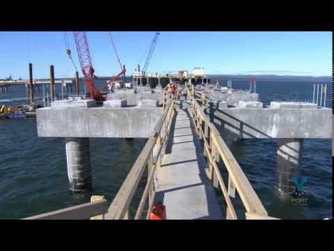 Construction quai multi-usager - Port de Sept-Îles
