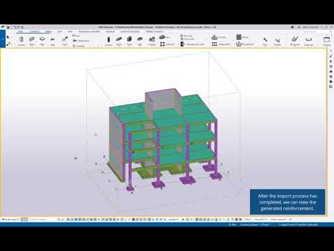 Easily Transfer Tekla 3D Rebar Design Intent to Reuse for Fast Automatic Detailing