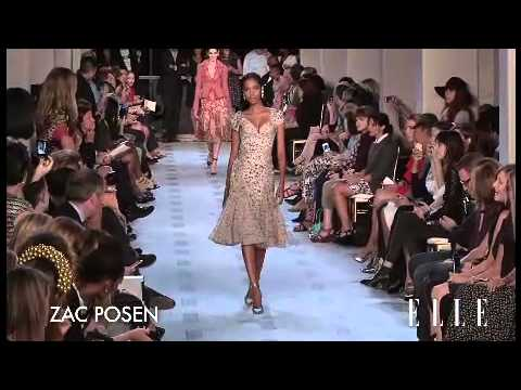 Zac Posen. Mercedes Benz New York Fashion Week P/V 2013