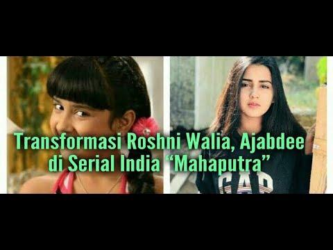 """Foto Transformasi Roshni Walia, Ajabdee di Serial India """"Mahaputra"""""""