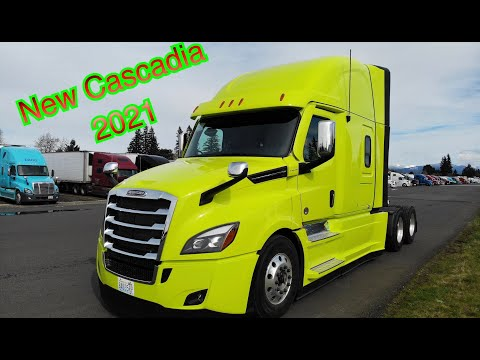 Обзор новой Cascadia 2021(manual), Дальнобой по США