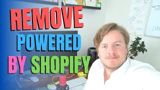 How To Remove Powered By Shopify From Your Store Footer