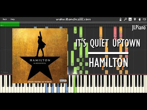 It's Quiet Uptown - Hamilton (Synthesia Piano & Vocal Cover) *SHEET MUSIC*