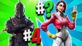 THE BEST SKIN OF EACH FORTNITE BATTLE ROYALE BATTLE PASS 😱