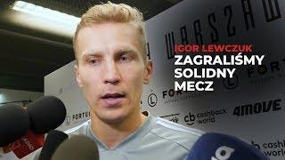Igor Lewczuk o meczu Legia Warszawa - Glasgow Rangers
