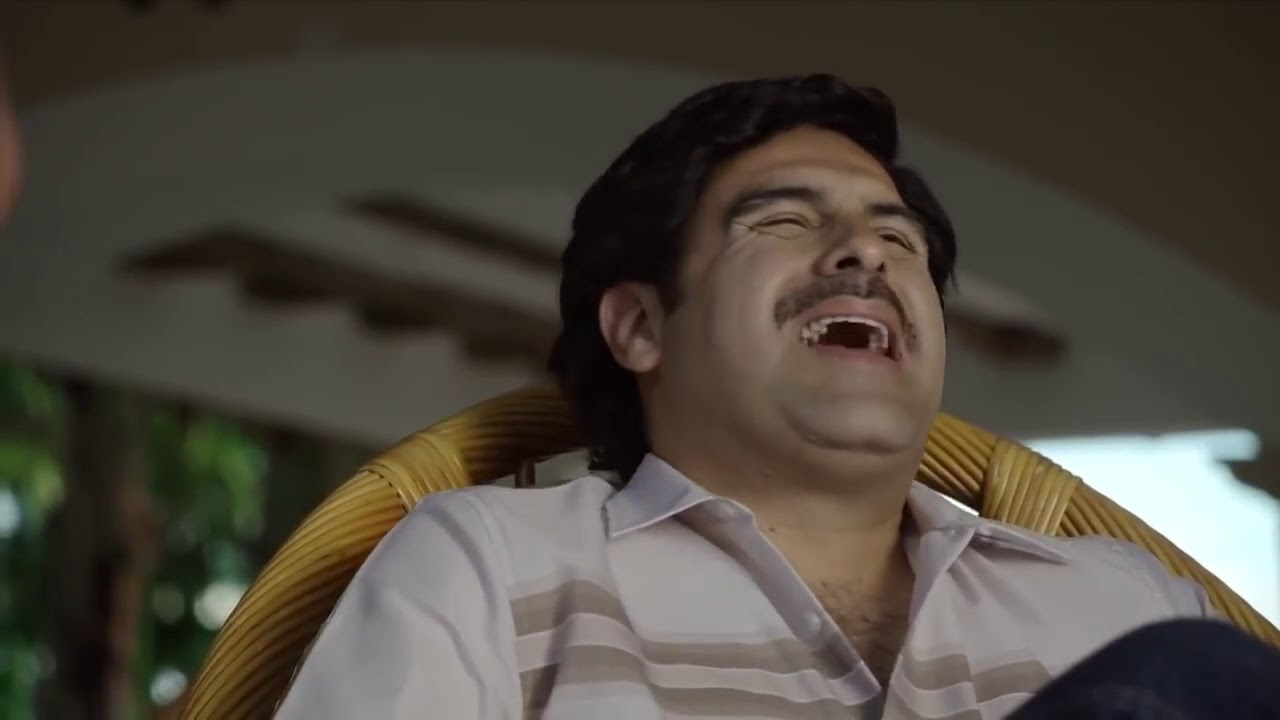 El chapo la serie Pablo Escobar pone a prueba al chapo - YouTube