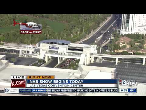 National Association of Broadcasters convention begins today