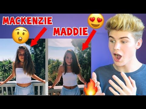 REACTING TO MADDIE ZIEGLER COPYING MACKENZIE'S INSTAGRAM PICTURES MUST WATCH 2018