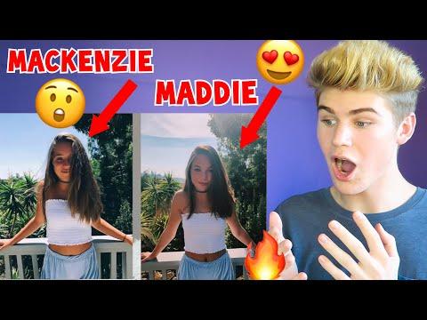 REACTING TO MADDIE ZIEGLER COPYING MACKENZIE'S INSTAGRAM PICTURES MUST WATCH 2018