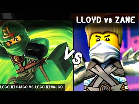 Lloyd vs zane lego kids battles fights walki lego ninjago vs lego dimensions youtube - Ninjago vs ninjago ...