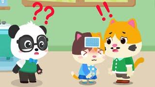 Little Panda Kindergarten Teacher - Play and Help Kiki for Become a Good Teacher - Babybus Gameplay screenshot 4