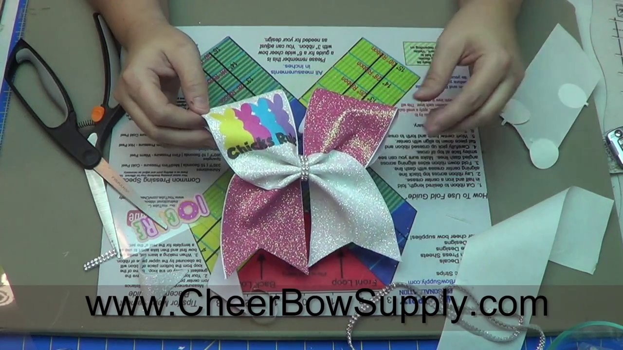 Cheer Bow Factory Sublimation Graphic Cash Me On The Mat Make your own bow
