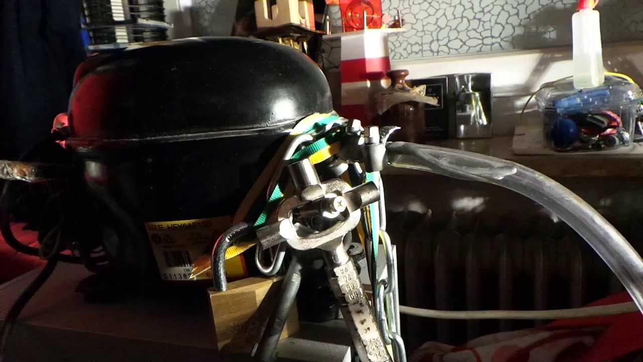 Kleiner Kühlschrank Kompressor : Kleiner filter für mein kühlschrankkompressor youtube