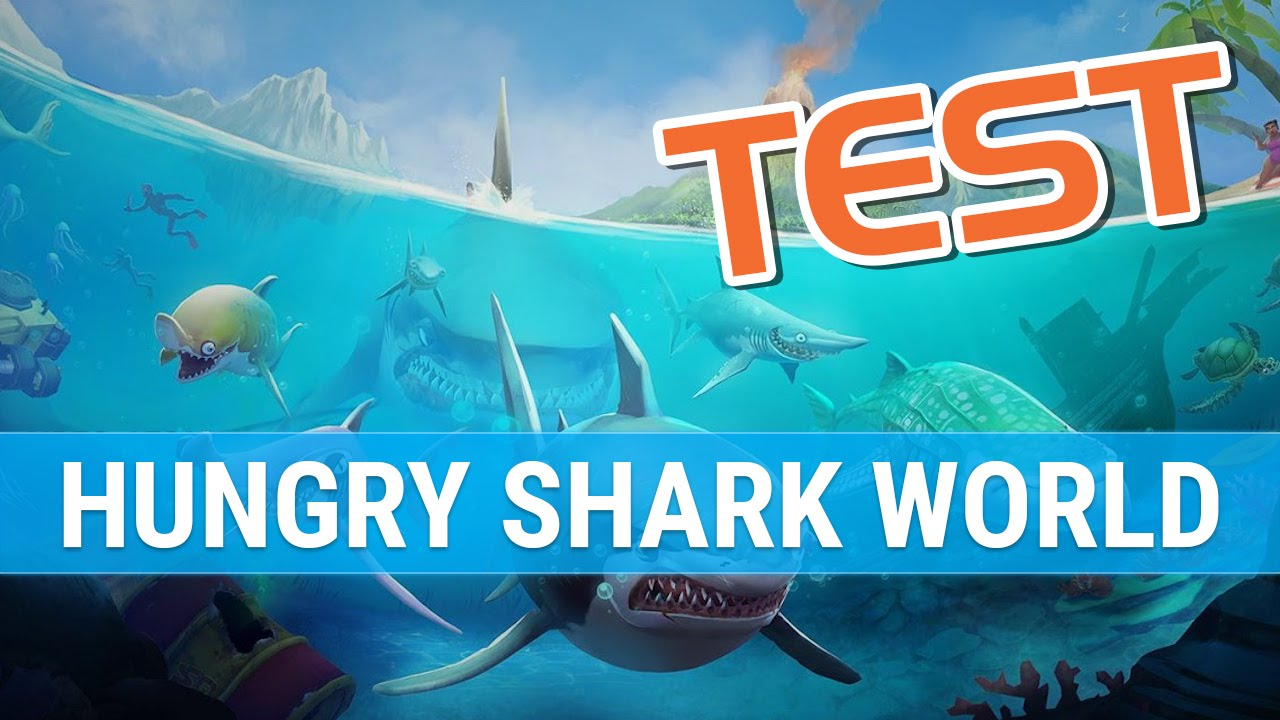 hungry shark world test fr le retour des dents de la mer