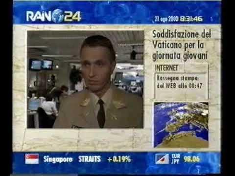 RAINEWS24 del 21 Agosto 2000