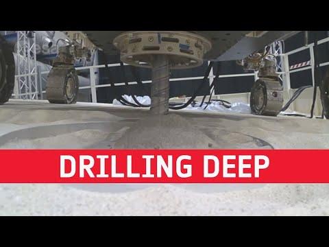 ExoMars Deep Drilling Success on Earth