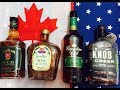 What's The Best Rye Whiskey American or Canadian