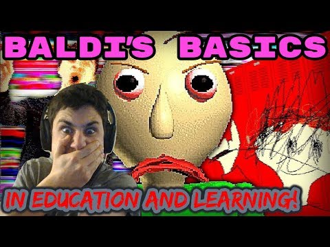 Baldi's Basics In Education and Learning | WARNING HORROR GAME! | The Frustrated Gamer