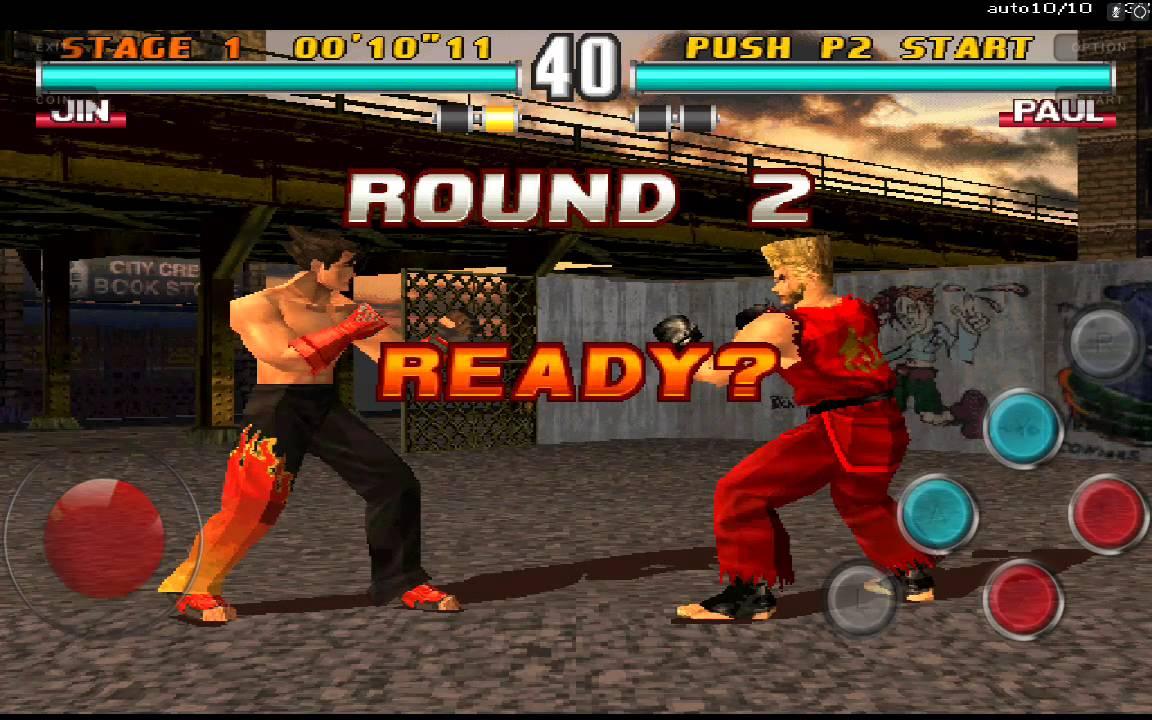 MAME - Tekken 3 Arcade - MAME4droid