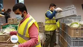 Swiss Muslim Youth distribute food to the needy