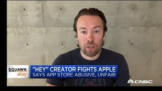 'Hey' creator on fighting Apple's App Store policies