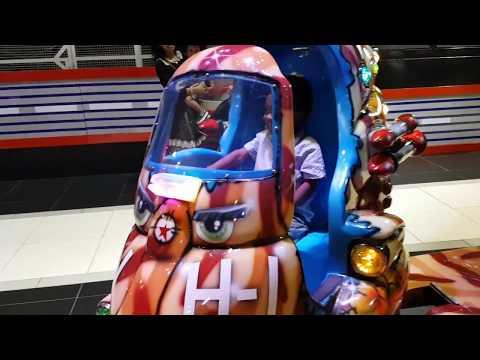 Family Fun Adventure Sega Republic Indoor Theme Park Dubai Mall