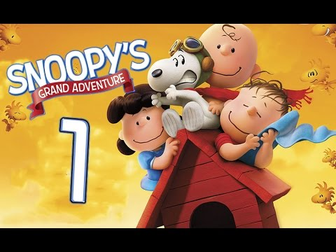Peanuts Movie: Snoopy's Grand Adventure Walkthrough Part 1 (