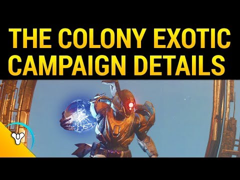 Curse of Osiris: Campaign Length, Infinite Forest, Mercury Rewards, The Colony Exotic