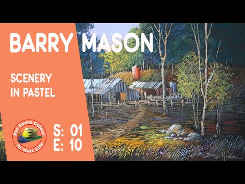 Art ttips with a Free Pastel Art Lessons with Barry Mason on Colour In Your Life