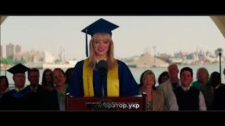 """видео: Девушка, оратор,  с фильма """"Человек Паук. Высокое напряжение"""""""