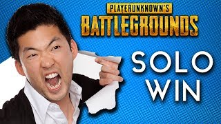 ANGRY ASIAN Gets TRAPPED   PUBG Solo Win