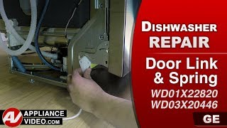 GE Dishwasher - Cable Pulley Assembly problem - Diagnostic & Repair