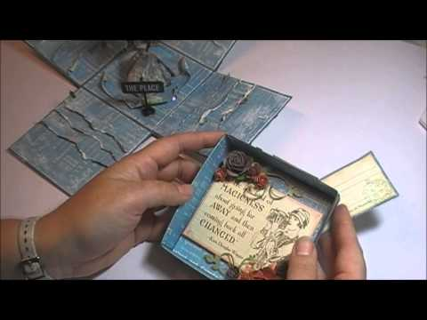 The Dragon Explosion travel trunk card