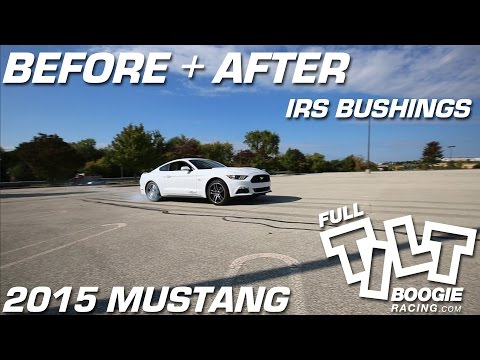 S550 Mustang IRS Bushings  Before and After by Full Tilt Boogie Racing