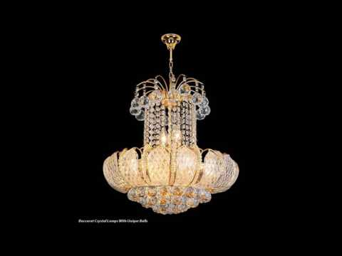 Baccarat Crystal Lamps, Sign of Sophistication