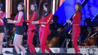 131006 nine muses kyungri dolls kbs open concert