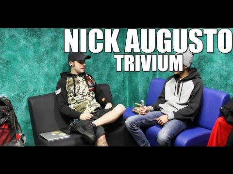 Nick Augusto (Trivium) 'Drum Interview'
