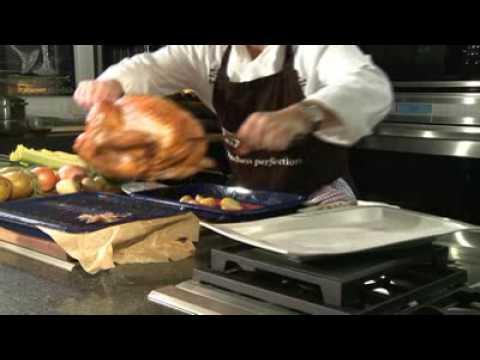 Roast Turkey with Cider Syrup and British Veggies