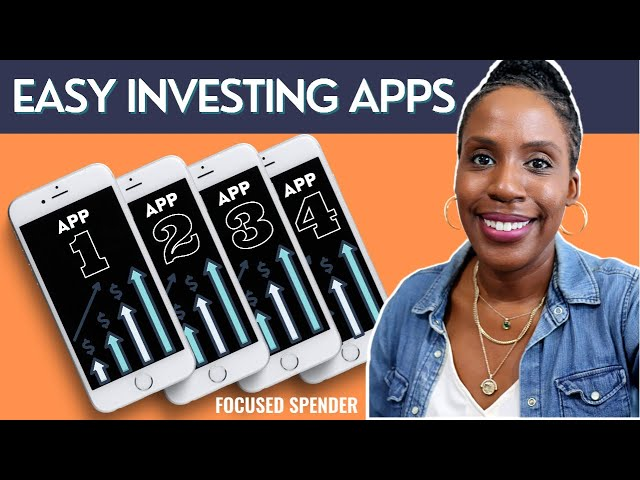 READY TO INVEST? My Top Four Investment Apps for Beginners