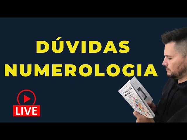 NUMEROLOGIA CABALÍSTICA - LIVE almoço com o Prof.Max