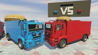 ROJOS vs AZULES - GTA 5 ONLINE