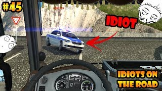 ★ IDIOTS on the road #45 - ETS2MP | Funny moments - Euro Truck Simulator 2 Multiplayer